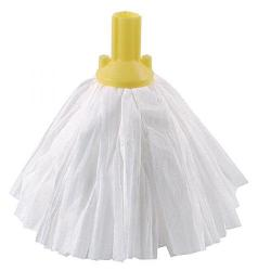 Cheap Stationery Supply of Exel Big White Mop Head Yellow (Pack of 10) 102199YL Office Statationery