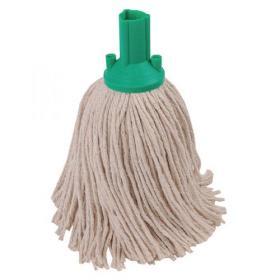 Exel 250g Mop Head Green (Pack of 10) 102268GN