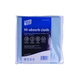 Cheap Stationery Supply of Robert Scott Hi-Absorb Microfibre Cloth Blue (Pack of 5) 103986BLUE Office Statationery