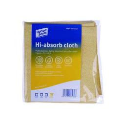 Cheap Stationery Supply of Robert Scott Hi-Absorb Microfibre Cloth Yellow (Pack of 5) 103986YELLOW Office Statationery