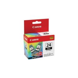 Cheap Stationery Supply of Canon BCI-24BK Black Ink Cartridge Pack of 2 BCI-24 BK TW Office Statationery