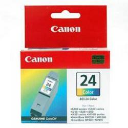 Cheap Stationery Supply of Canon BCI-24C Colour Ink Cartridge Pack of 2 BCI-24C TWIN Office Statationery