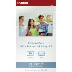 Cheap Stationery Supply of Canon KP-36IP SELPHY Colour Inkjet Cartridge and Papers CO04703 Office Statationery