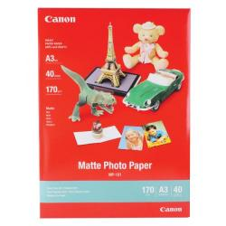 Cheap Stationery Supply of Canon MP-101A3 A3 Photo Paper Matte (Pack of 40) 7981A008 Office Statationery