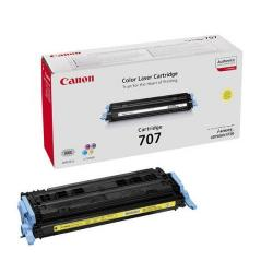 Cheap Stationery Supply of Canon 707Y Yellow Toner Cartridge 9421A004 Office Statationery