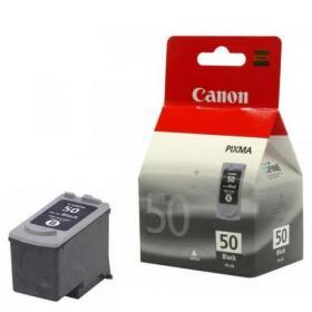 Canon PG-50 Black High Yield Inkjet Cartridge 0616B001
