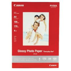 Cheap Stationery Supply of Canon Glossy Photo A4 Paper 200gsm (Pack of 100) 0775B001 Office Statationery