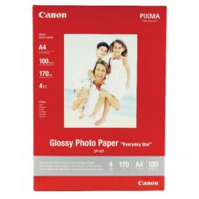 Canon Glossy Photo A4 Paper 200gsm (Pack of 100) 0775B001