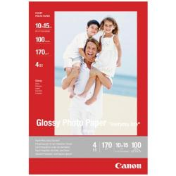 Cheap Stationery Supply of Canon Glossy Photo Paper 10 x 15cm 170gsm (Pack of 100) 0775B003 Office Statationery
