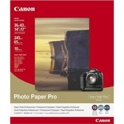 Cheap Stationery Supply of Canon PR-101 14 x 17 inch 245gsm High Gloss Photo Paper Pro Pack of 10 Sheets 1029A063 Office Statationery