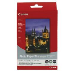 Cheap Stationery Supply of Canon SG-201 Photo Paper Plus 4 x 6in Semi-Gloss (Pack of 50) 1686B015 Office Statationery