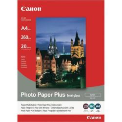 Cheap Stationery Supply of Canon A4 Photo Paper Plus 260gsm Semi-Gloss (Pack of 20) 1686B021 Office Statationery