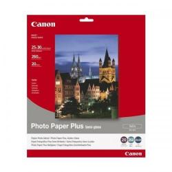 Cheap Stationery Supply of Canon SG-201 10 x12 inch 260gsm Semi-Gloss Photo Paper Plus Pack of 20 Sheets 1686B024 Office Statationery