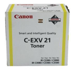 Canon C-EXV 21 Yellow Toner Cartridge 0455B002