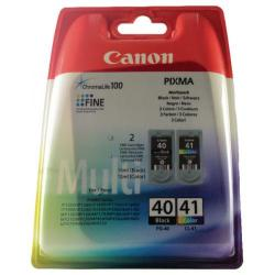 Cheap Stationery Supply of Canon PG-40/CL-41 Ink Cartridge Multipack 0615B036AA Office Statationery