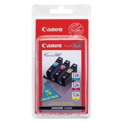 Cheap Stationery Supply of Canon CLI-526 CMY Cartridge 3-Color Multipack 4541B009 Office Statationery
