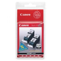 Cheap Stationery Supply of Canon PGI-520 Black Inkjet Cartridges (Pack of 2) 2641B002 Office Statationery
