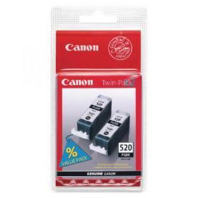Canon PGI-520 Black Inkjet Cartridges (Pack of 2) 2641B002