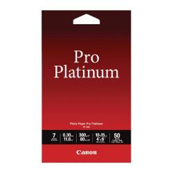 Cheap Stationery Supply of Canon Pro Platinum Photo Paper 4 x 6 Inch (Pack of 50) 2768B014 Office Statationery
