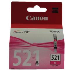 Cheap Stationery Supply of Canon CLI-521M Magenta Inkjet Cartridge (Capacity: 510 pages) 2935B001 Office Statationery