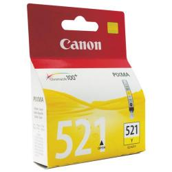 Cheap Stationery Supply of Canon CLI-521Y Yellow Ink Cartridge 2936B001 Office Statationery