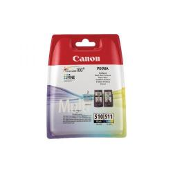 Cheap Stationery Supply of Canon PGI-510 CL-511 Black/Colour Ink Cartridge Multipack 2970B010 Office Statationery