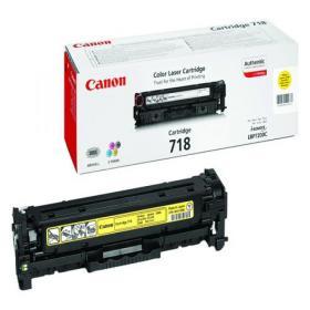 Canon 718Y Yellow Laser Toner Cartridge 2659B002