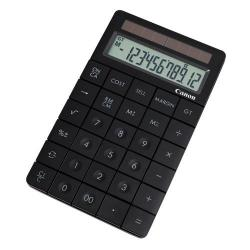 Cheap Stationery Supply of Canon X MARK 1 12-Digit Soloar Powered Desktop Calculator Black 3982B001AA Office Statationery