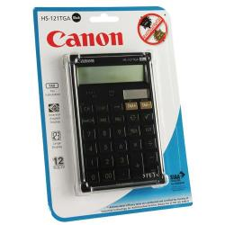 Cheap Stationery Supply of Canon HS121TGA Desktop Calculator 12-Digit Black HS121T BLACK Office Statationery
