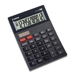 Cheap Stationery Supply of Canon AS-120 Calculator Desktop Battery/Solar 3 Memory Keys 12 Digit Dark Grey AS-120 Office Statationery