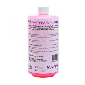 Hand Soap Pink 1 Litre (Pack of 2) KSEMAXPS1