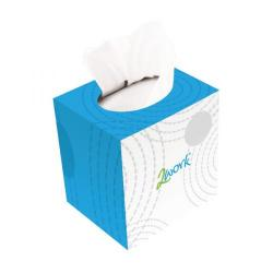 Cheap Stationery Supply of 2Work Facial Tissues Cube 70 Sheets (Pack of 24) FTW070 Office Statationery