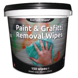 Cheap Stationery Supply of EcoTech Paint and Graffiti Wipes (Pack of 150) EBPG150 Office Statationery