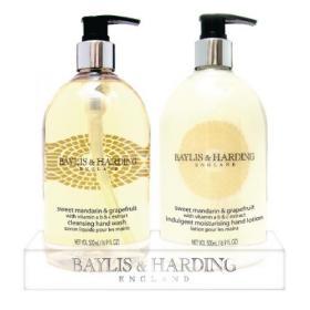Baylis & Harding Mandarin and Grapefruit Wash and Lotion Set 0604243