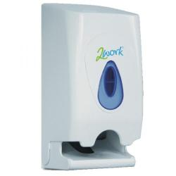 Cheap Stationery Supply of 2Work Twin Toilet Roll Dispenser CPD43612 Office Statationery