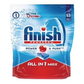 Finish All-in-One Max Original Dishwasher Tablets (Pack of 53) RB787212