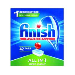 Cheap Stationery Supply of Finish All-In-One Dishwasher Tablets Regular (Pack of 42) C001437 Office Statationery