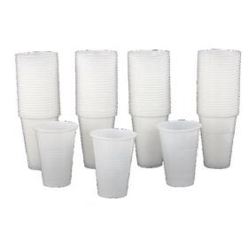 MyCafe Plastic Cups White 7oz (Pack of 1000) DVPPWHCU01000V