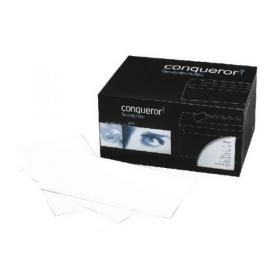Conqueror Laid DL Wallet Envelope 110x220mm Bright White (Pack of 500) CXN1625DW