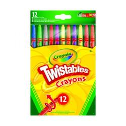 Cheap Stationery Supply of 12 Crayola Twistable Coloured Pencils (Pack of 6) 52-8530-E-000 Office Statationery