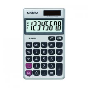 Casio Pocket Calculator 8-Digit SL-300SV