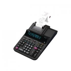 Casio 12 Digit Printing Calculator Black (Compatible with 58mm printing rolls) FR620 RE