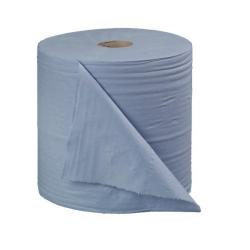 Cheap Stationery Supply of 2Work 2-Ply Forecourt Roll 400m Blue (Pack of 2) CT34137 Office Statationery
