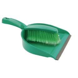 Cheap Stationery Supply of Dustpan and Brush Set Green 102940GN Office Statationery