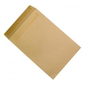 5 Star Office Envelopes FSC Recycled Pocket Peel & Seal 115gsm 381x254mm Manilla Pack of 250