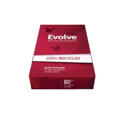 Cheap Stationery Supply of Evolve White Everyday Recycled A3 Paper 80gsm 500 Sheets (Pack of 500) 3613630000554 Office Statationery