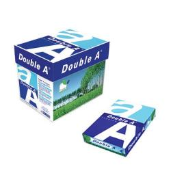 Cheap Stationery Supply of Double A White Premium A4 Paper 80gsm 500 Sheets (Pack of 2500) 3613630000059 Office Statationery