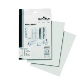 Durable Badgemaker Inserts A6 (Pack of 80) 142002