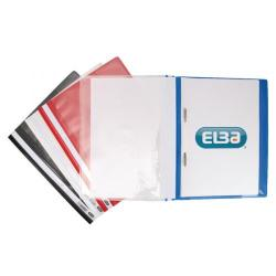 Cheap Stationery Supply of Elba Pocket Report File A4 Assorted (Pack of 25) 400055040 Office Statationery