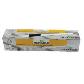 Durable A4 Black 6mm Spine Bars (Pack of 100) 2901/01